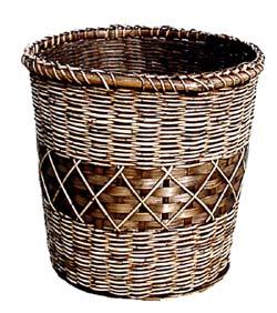 籐かご鉢カバー