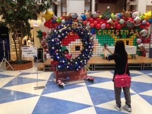 クリスマスリース作成2